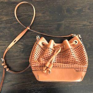 Rebecca Minkoff Bags - Rebecca Minkoff Perforated Leather bucket bag